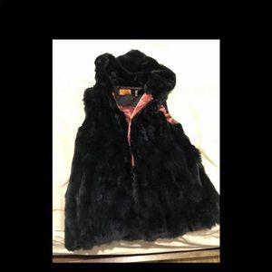 💯 AUTHENTIC Rabbit Fur Vest